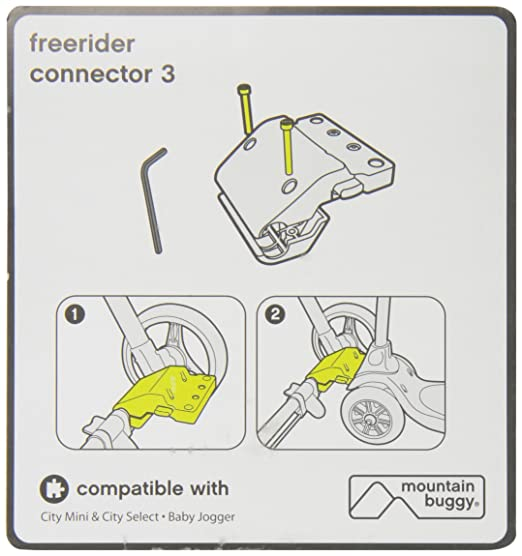 Amazon.com: Mountain Buggy Freerider Conector 3: Baby