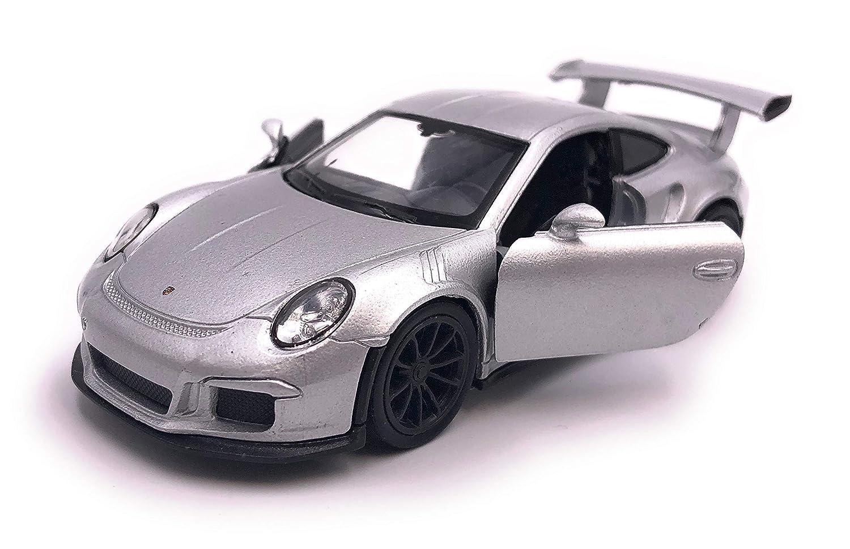 H-Customs Porsche 911 991 GT3 RS Model Car Auto Produit sous Licence 1 34-1 39 Argent