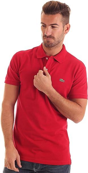 Lacoste Polo Slim Fit Rojo 4XL: Amazon.es: Ropa y accesorios