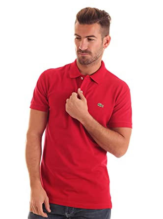 Lacoste Polo Slim Fit Rojo 4XL: Amazon.es: Ropa y accesorios