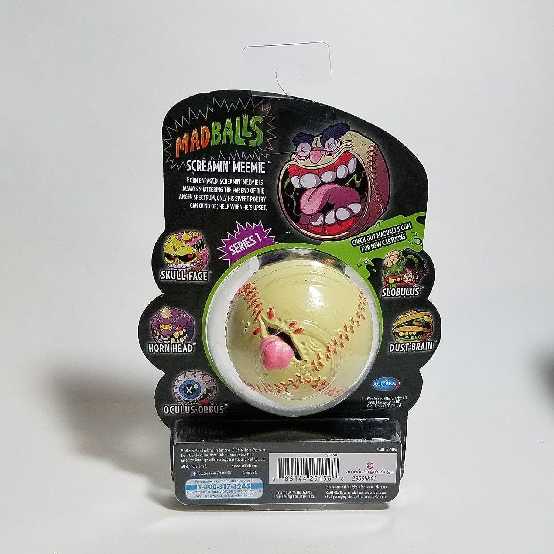Amazon american greetings screamin meemie madballs 1st amazon american greetings screamin meemie madballs 1st edition toys games kristyandbryce Images