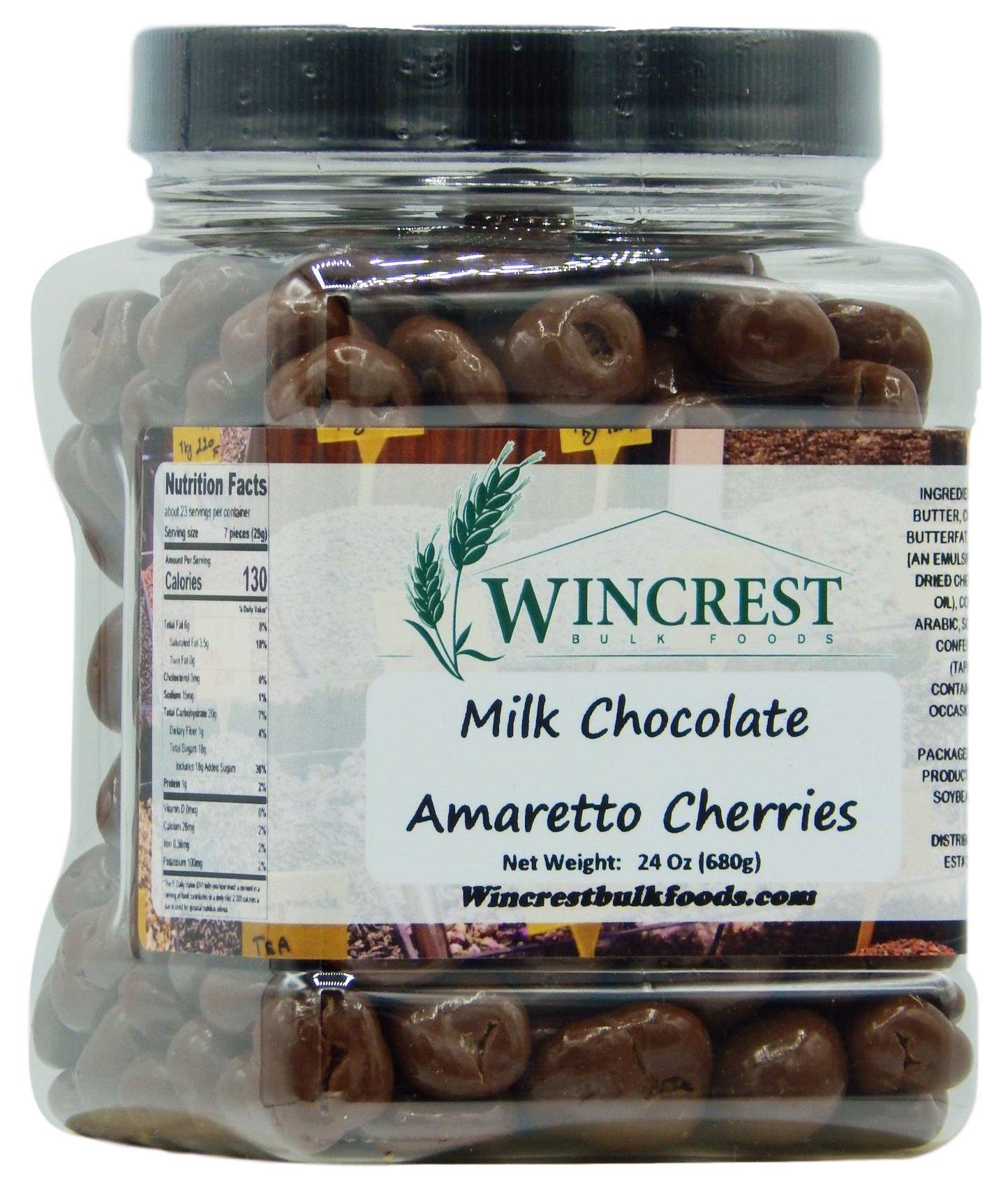Milk Chocolate Amaretto Cherries - 1.5 Lb