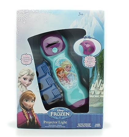 Amazon.com: Disney Junior Frozen Proyector Luz Linterna con ...