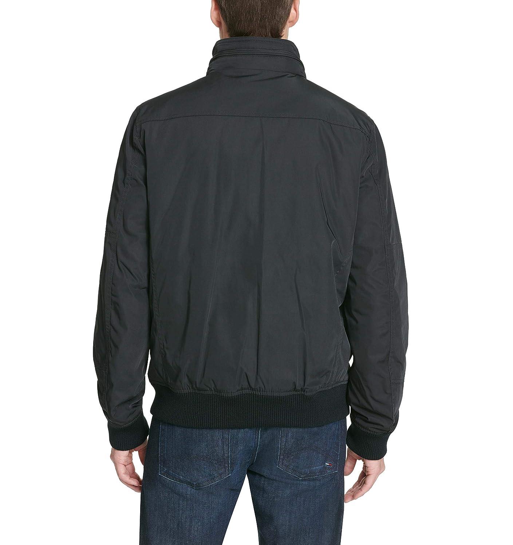2e3632939 Tommy Hilfiger Men's Performance Bomber Jacket (Regular, Big & Tall) at  Amazon Men's Clothing store: