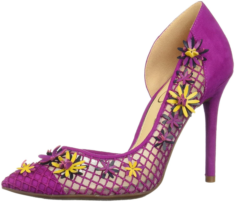 Jessica Simpson Women's Leighah Pump B0787FWKPL 8.5 B(M) US|Vivid Orchid