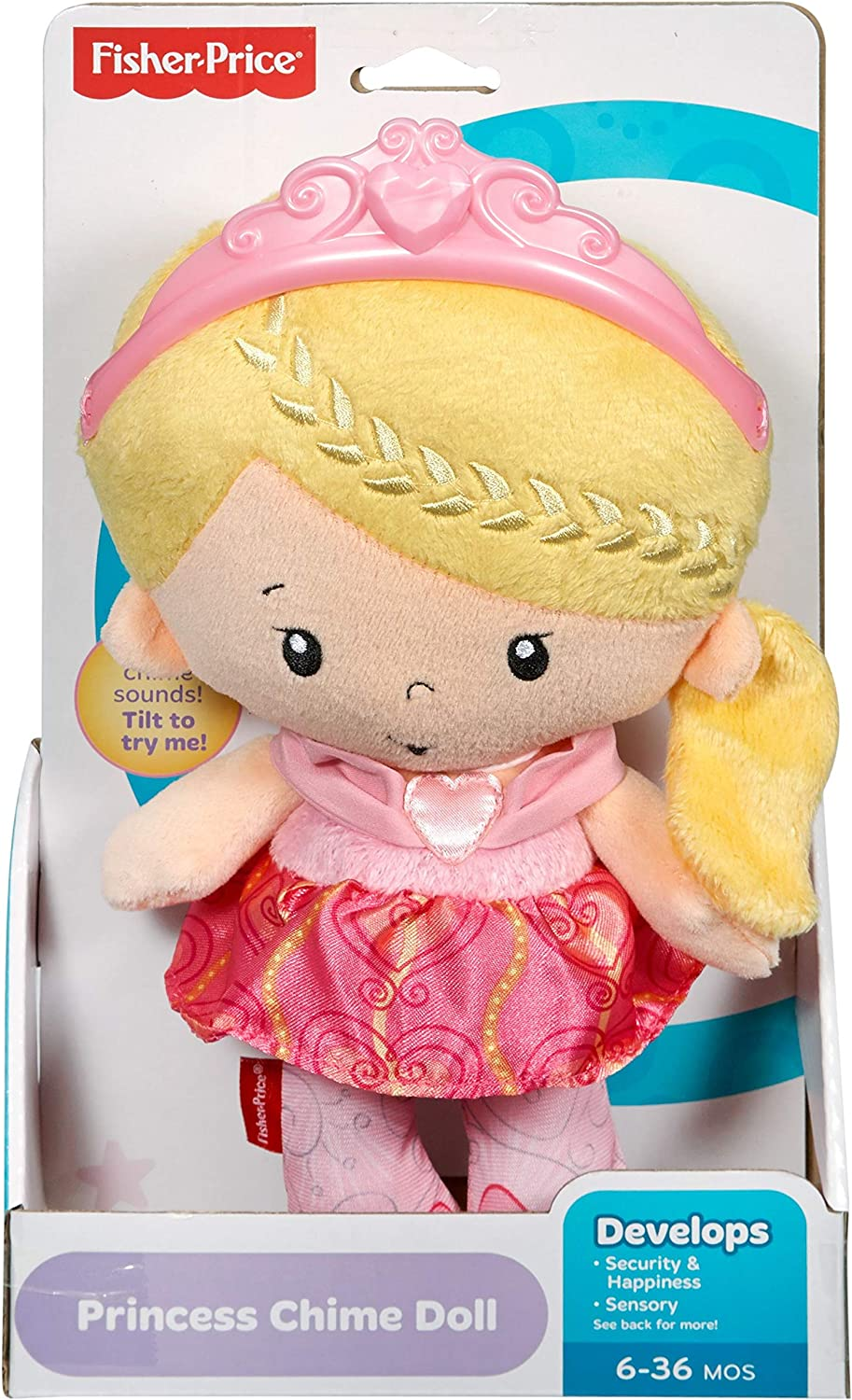 Amazon.com: Fisher-Price Princesa Chime muñeca: Toys & Games