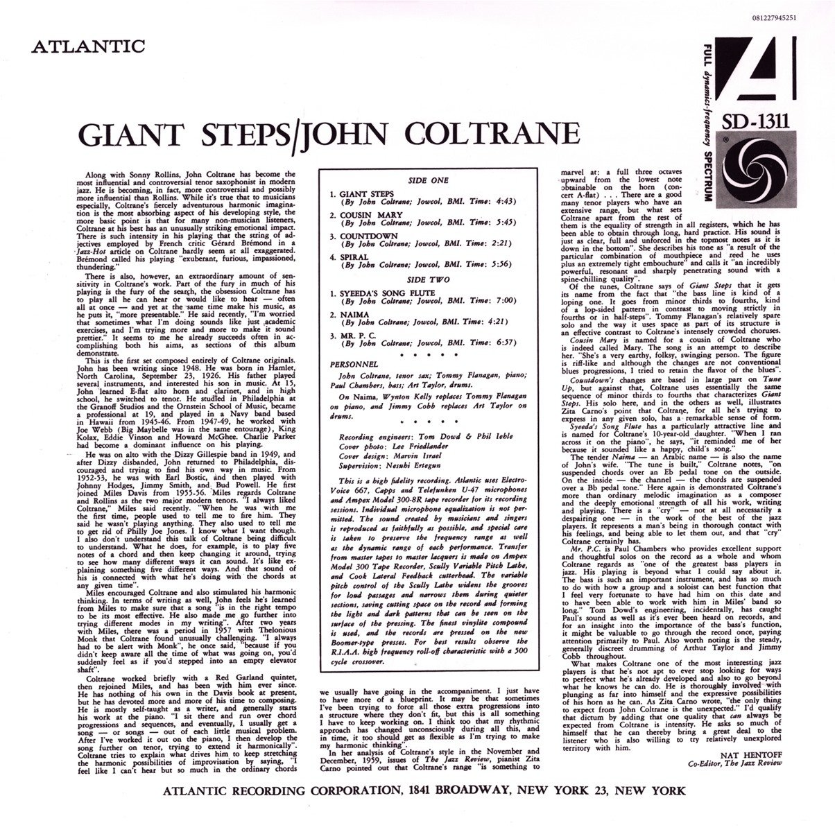 Giant steps mono vinyl amazon music hexwebz Gallery