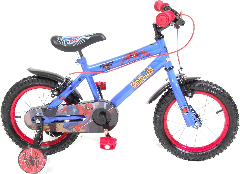 Spiderman SPD314L - Bicicleta Infantil para niño, 5 a 8 años ...
