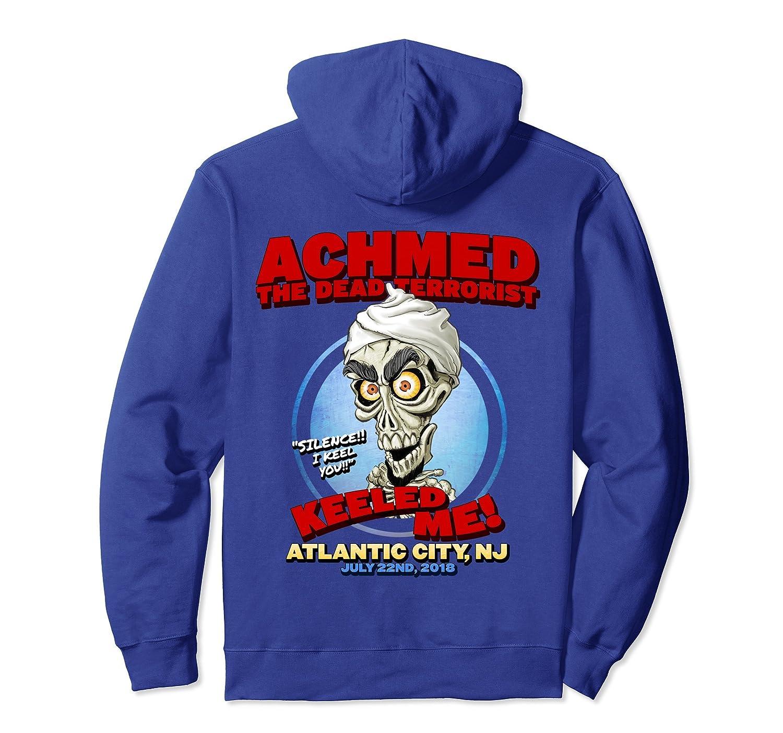 Achmed The Dead Terrorist Atlantic City, NJ Hoodie-mt