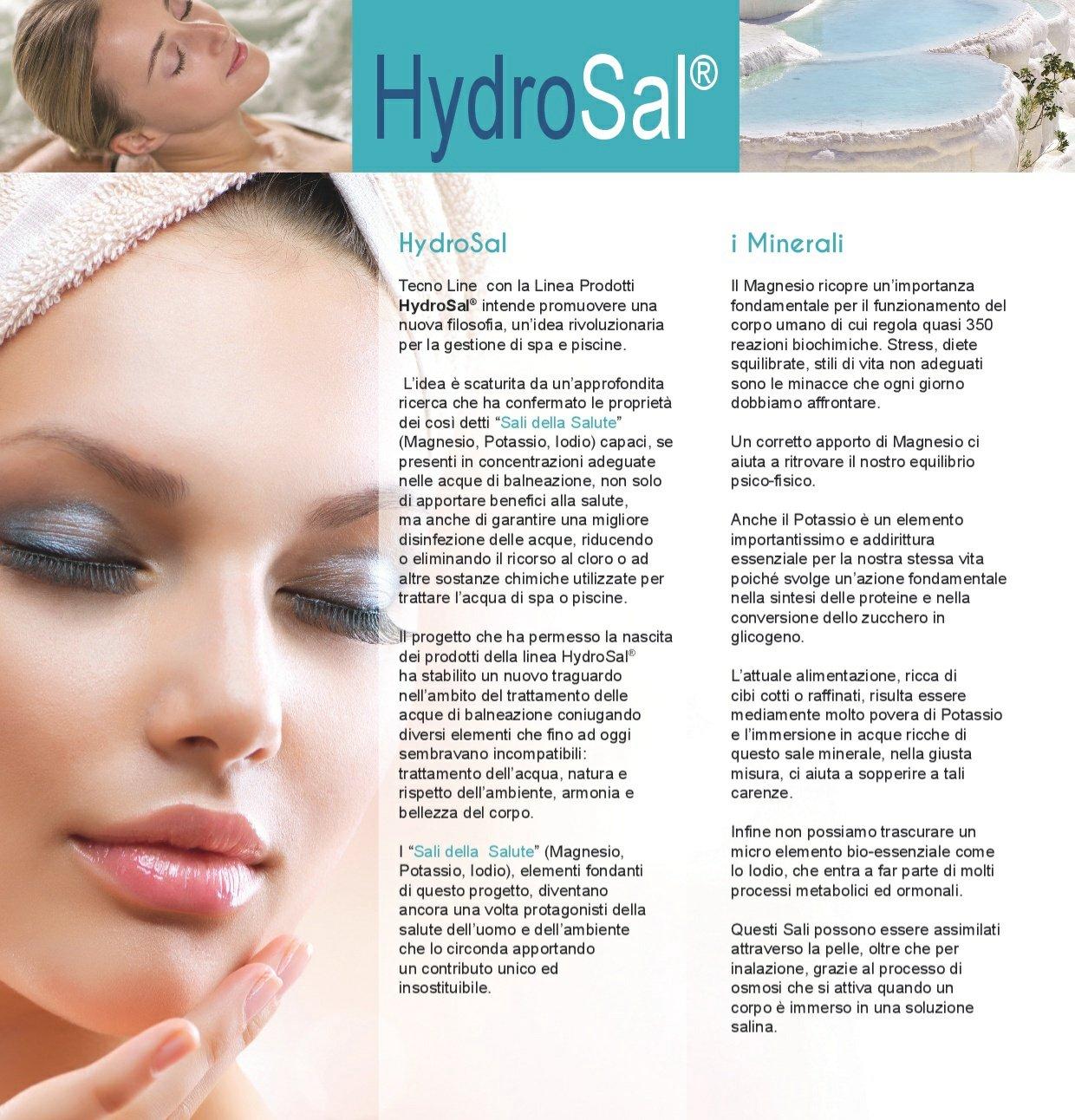 AquaSal es una mezcla de alta concentración de sales de magnesio, potasio y yodo de elevada actividad biológica que se añade al agua de piscinas, ...