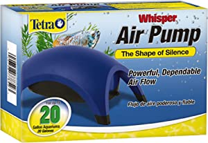 Tetra Whisper Air Pump with Minimal Noise and Maximum Air Flow