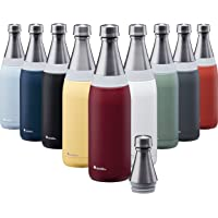Aladdin Fresco Thermavac Stainless Steel Water Bottle 0,6L Burgundy Red – Lekvrij - Inhoud Blijft Ruim 10 Uur Koud - BPA…