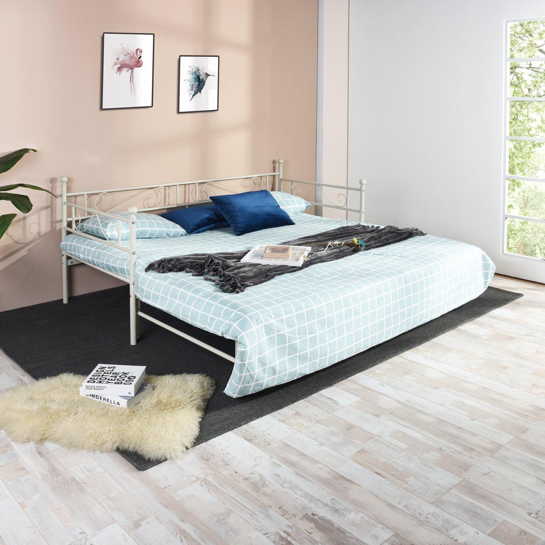 Eggree letti matrimoniale divano letto metallo divanetto strutture letto e basi ebay - Facciamo saltare i bulloni a questo divano ...