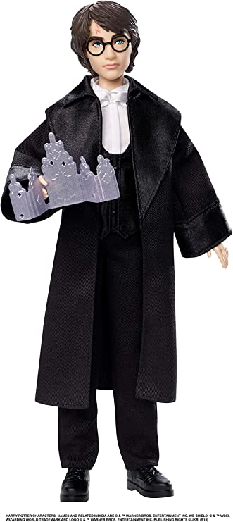 Harry Potter Poupée Articulée de 26 Cm en Costume Bal de Noël avec son  Invitation, à Collectionner, Jouet Enfant, Gfg13