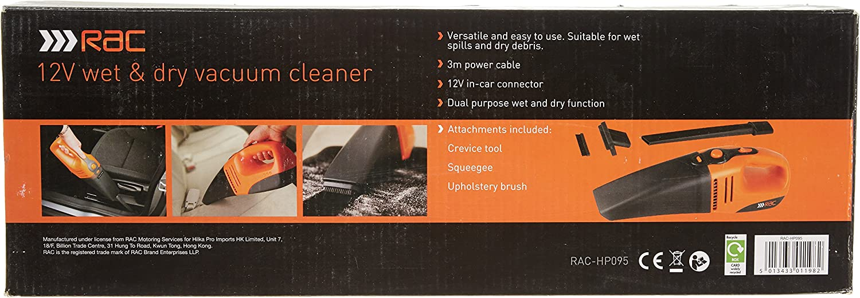 Rac Car Vacuum Cleaner | Car