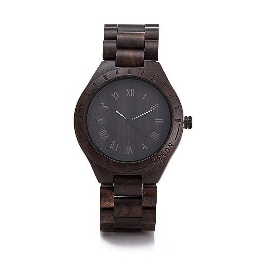 Reloj de cuarzo deportivo al aire libre deporte Kenon impermeable reloj digital con gafas de sol