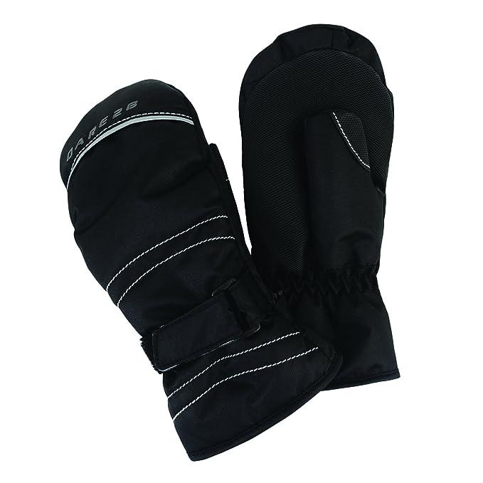 Dare2b Handover Boys Mitt Insulated Winter Ski Black
