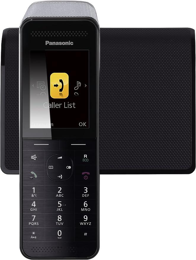 Panasonic KX-PRW110 - Teléfono Inalámbrico Digital Premium (LCD Color, Agenda de 300 números, Bloqueo de Llamadas, Modo Eco Plus, Modo No Molestar), Color Negro: Amazon.es: Electrónica