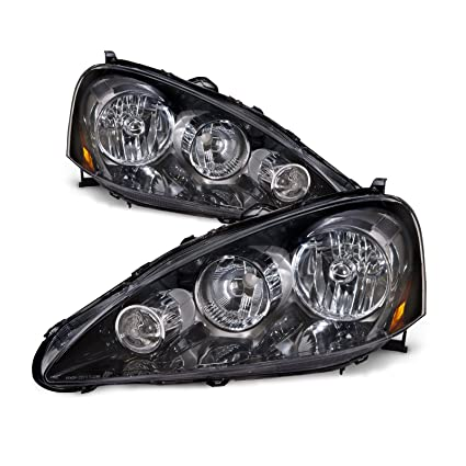 amazon com acura rsx headlights oe style replacement headlamps