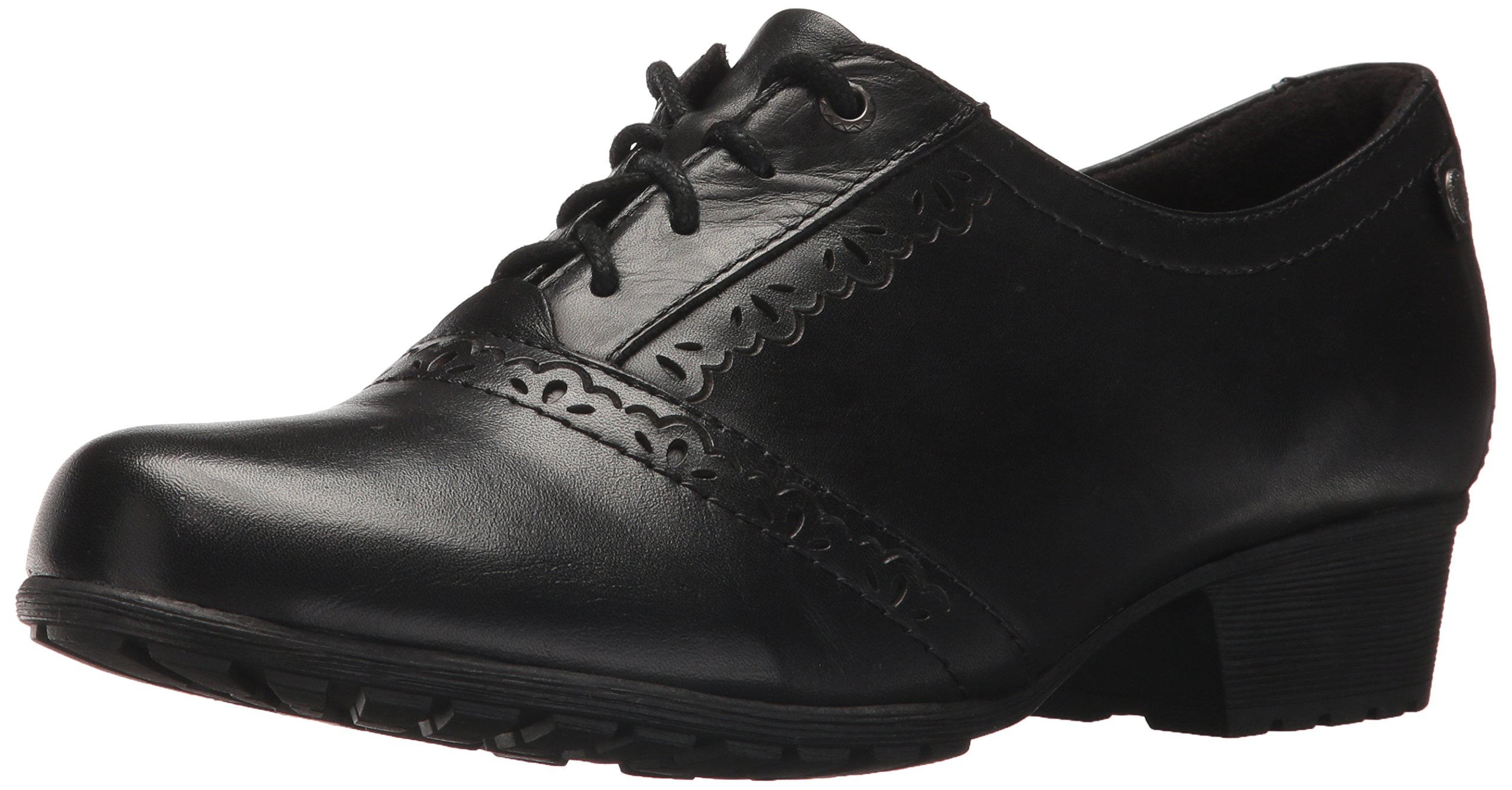 Cobb Hill Women's Gratasha Oxford, Black Leather, 9.5 W US