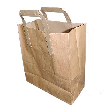 1000 pequeñas bolsas de fuerte portador de papel Kraft ...