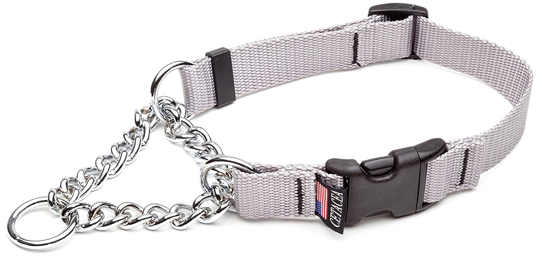 Cetacea Large Adjustable Martingale Chain, 1 , Silver