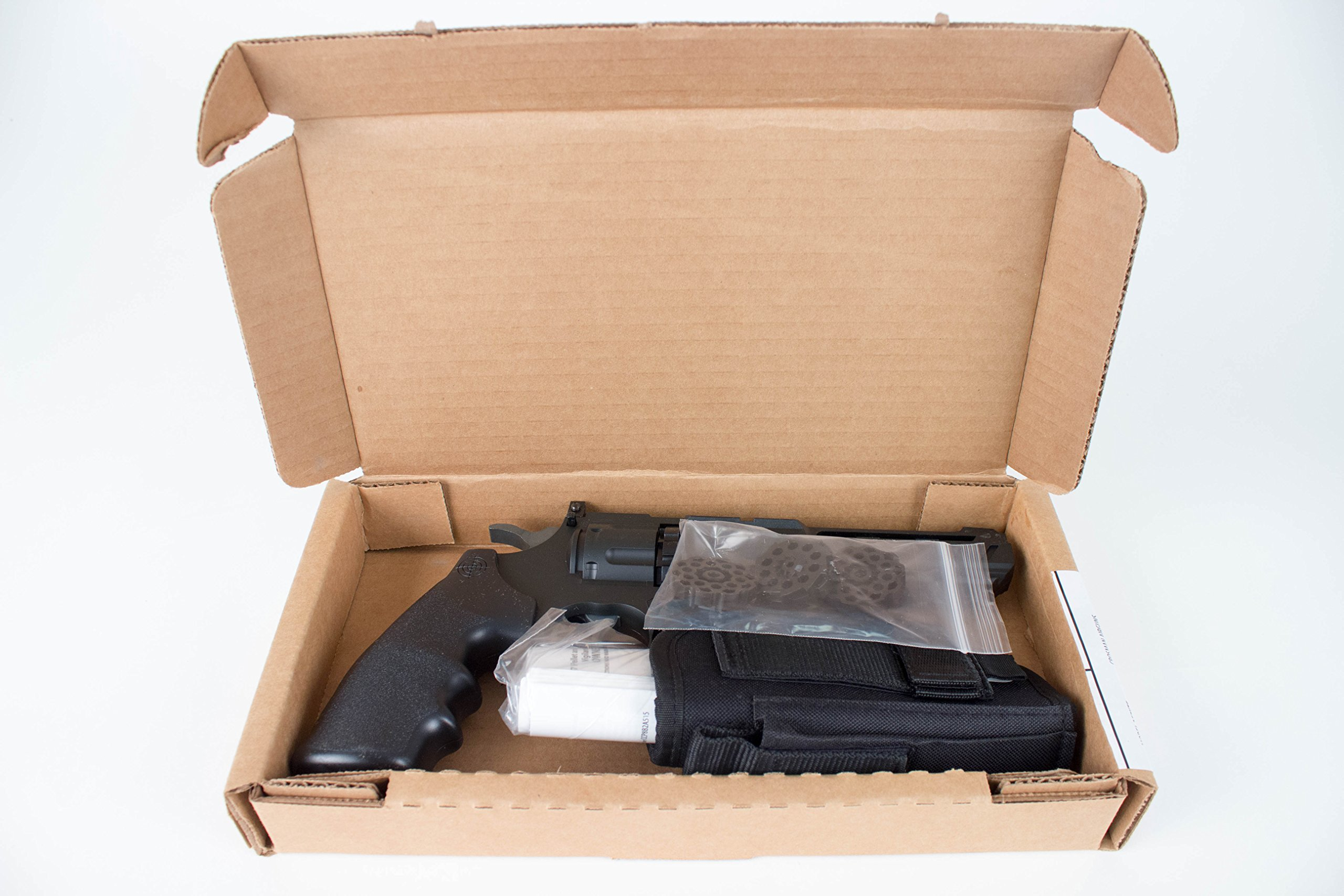 Crosman Vigilante 357 Co2 Air Pistol Kit with Holster and 3-Pack of Magazines by Crosman