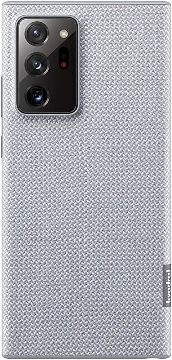 Samsung Kvadrat Ef Xn985 Smartphone Cover For Galaxy Note20 Ultra 5g Mobile Phone Case Danish Design Recycled Material Shockproof Case Grey Elektronik