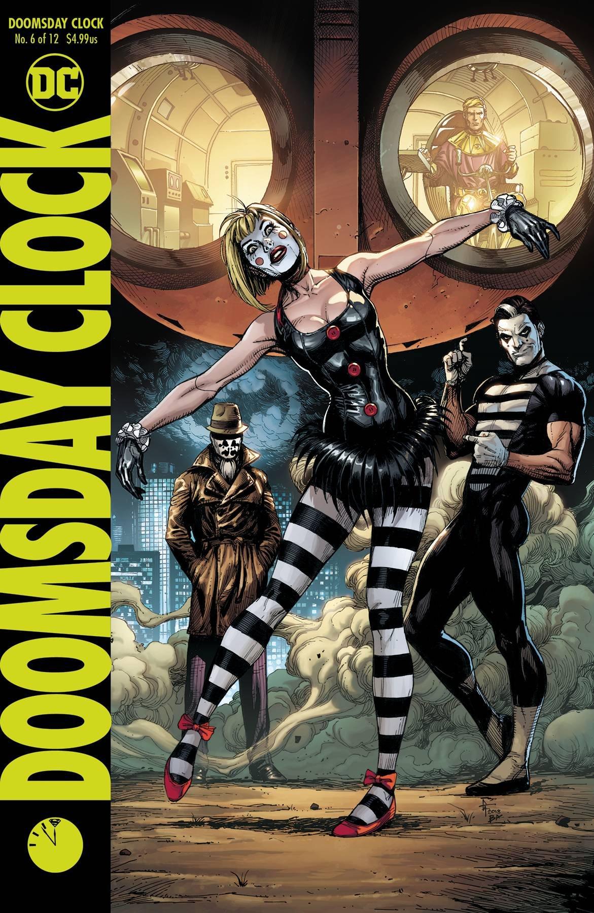 Amazon Com Doomsday Clock 6 Variant Cover Dc Books