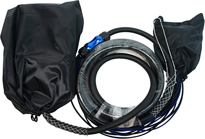 50 Feet 28 Send, 4 Returns Harmony Audio HA-SB3250 Pro Stage XLR Snake Cable Box 32 Channel