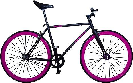 Bicicleta fixie para ciudad, City Bike, Fixed, Plato, bielas y llantas de ...