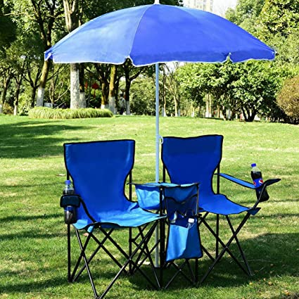 Swell Amazon Com Mikash Foldable Picnic Beach Camping Double Uwap Interior Chair Design Uwaporg