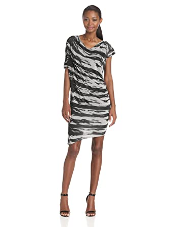 wrap draped wolf image dress badger front uk drapes paisie halterneck jersey