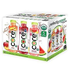 CORE Organic Variety Pack (18 oz. bottles, 12 pk.)