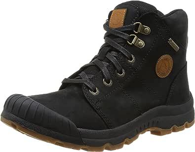 Aigle Men's Tenere Leather & GTX High Rise Hiking Shoes, Black, 6.5 UK