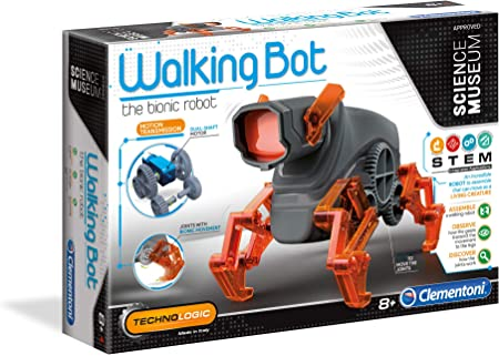 Clementoni 61778 Camminare Bot, Multicolore, 61778: Amazon
