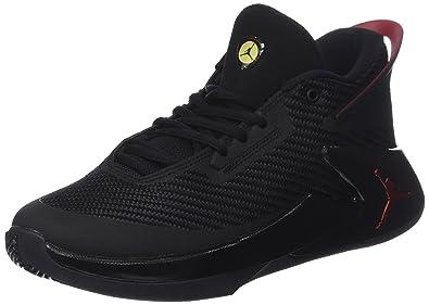 3ed33bc8cda78 Nike Jordan Fly Lockdown BG, Chaussures de Basketball garçon, Noir  (Black/Varsity