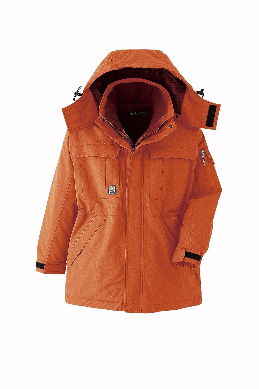 【旭蝶繊維】ASAHICHO 防水防寒着 極寒コート (69300) 【M~6Lサイズ展開】 B009YB3J2M 3L|オレンジ オレンジ 3L