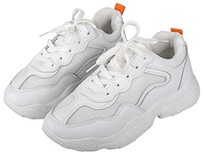 Buy Irsoe Girls' White Sports Shoes -5