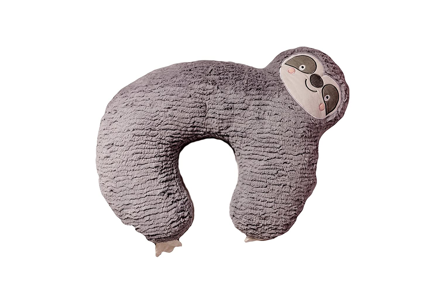 Bizzi Growin Unique Grey Sloth Soft Nursing Pregnancy Breast Feeding Support Pillow/Cushion