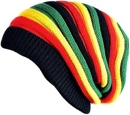 FRIENDSKART Men s Beanie Woollen Winter Bob Marley Cap (Multicolor)   Amazon.in  Clothing   Accessories e009e54bd70