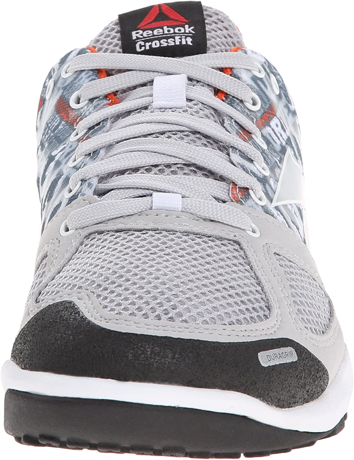 Reebok Women's Crossfit Nano 2.0 Training Shoe Steel/White/Iron Stone/Blazing Orange
