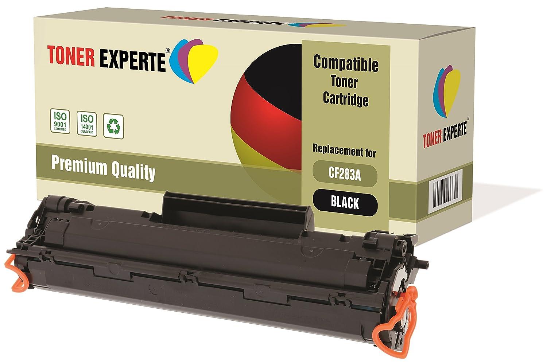 TONER EXPERTE® Compatible CF283A 83A Cartucho de Tóner Láser para HP Laserjet Pro MFP M125a, M125nw, M126a, M126nw, M127fn, M127fw, M128fn, M128fw, ...