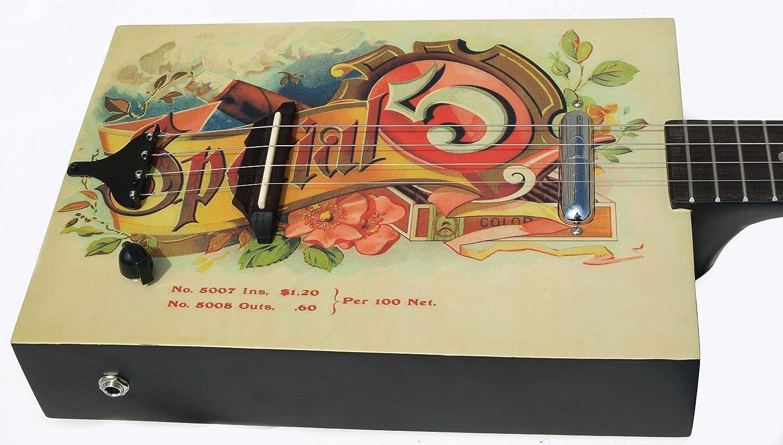 Eddy Finn - Caja de cigarros con bolsa para guitarra acústica ...
