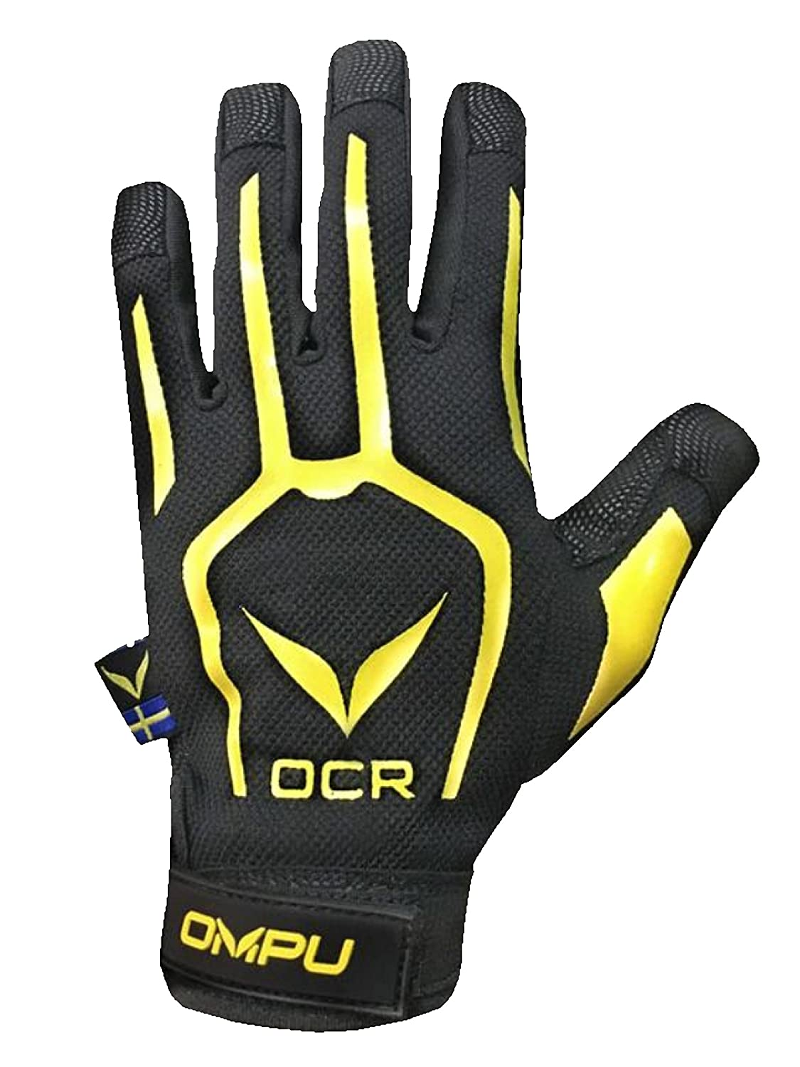 Black//Yellow OCR /& Outdoor Warm Weather Glove