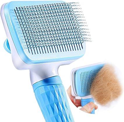 cepillo masajeador gatos