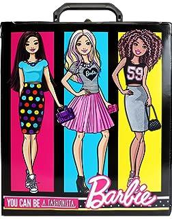 Amazoncom Tara Toys Barbie 20 Doll Store It All Portable Trunk