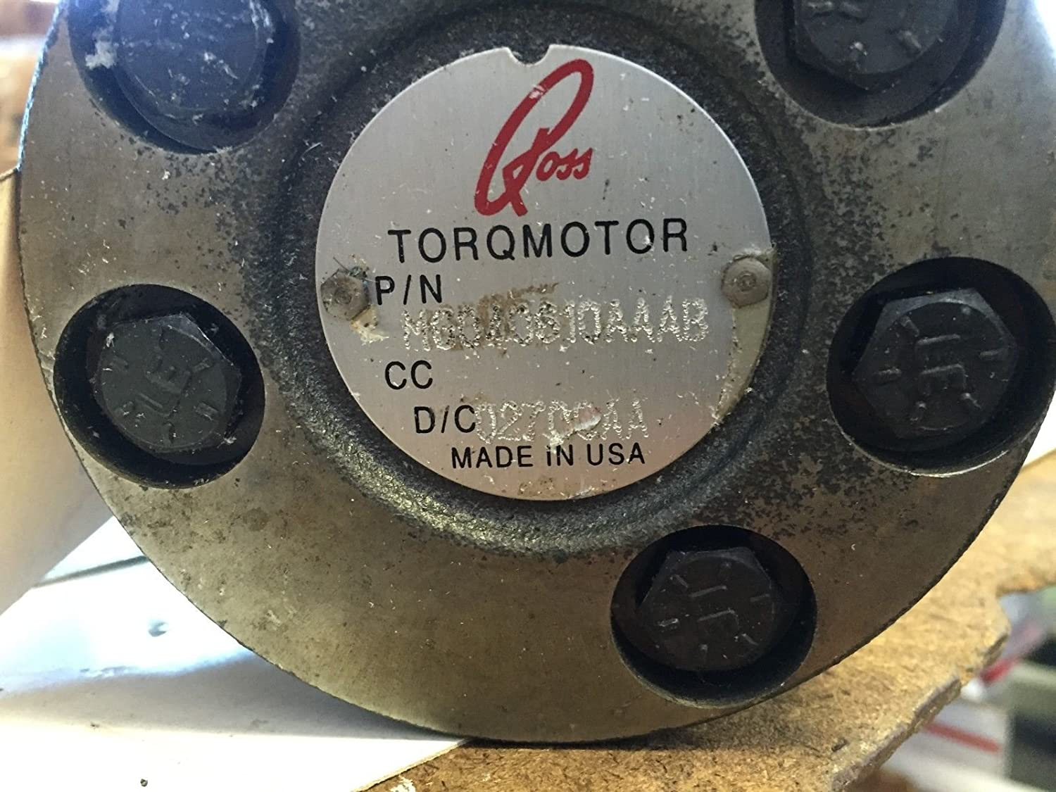 Amazon com: USED ROSS MG040610AAAB TORQMOTOR HYDRAULIC MOTOR,BOXZC