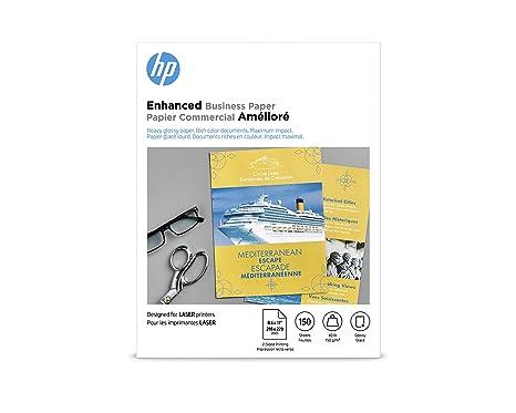 Amazon.com: Papel de folletos HP, brillante, 8.5 x 11 ...