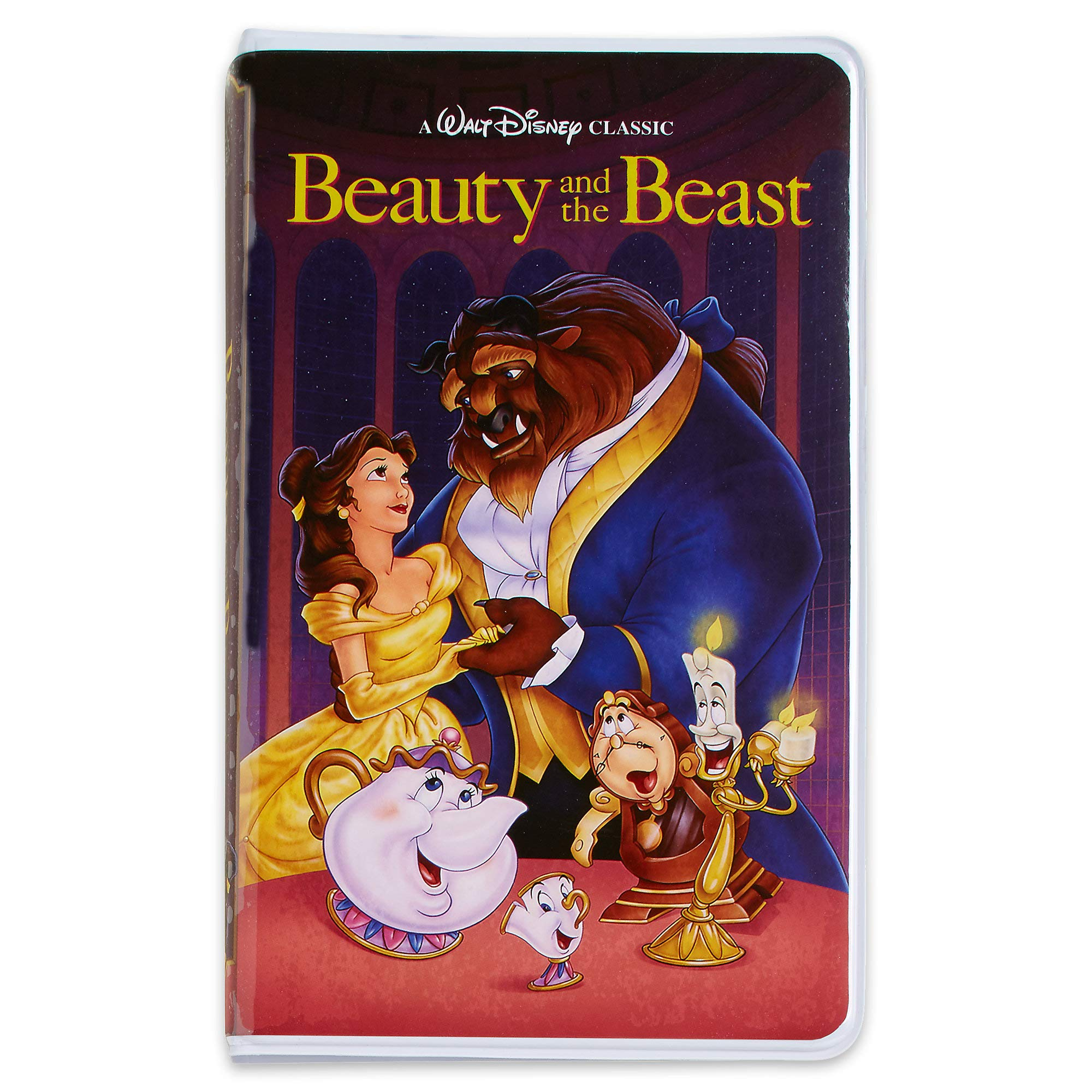 Disney Beauty and The Beast ''VHS Case'' Journal
